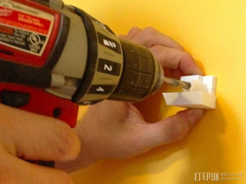 带有除尘装置的钻头导向装置 3D模型  图4