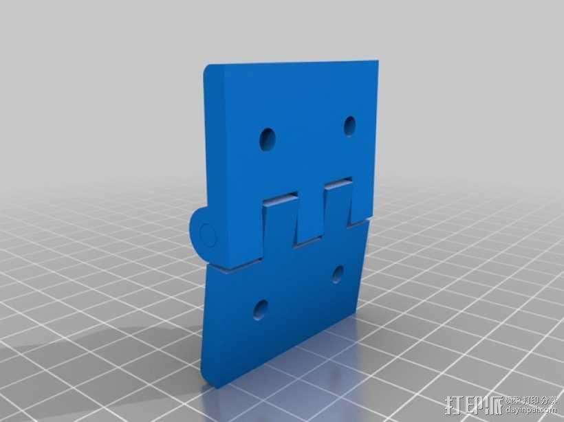 门铰链 3D模型  图4