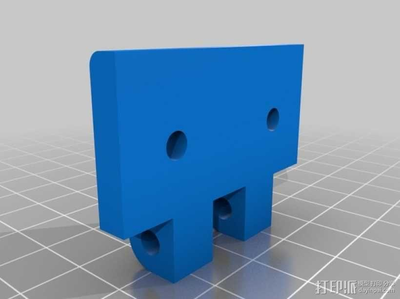 门铰链 3D模型  图6