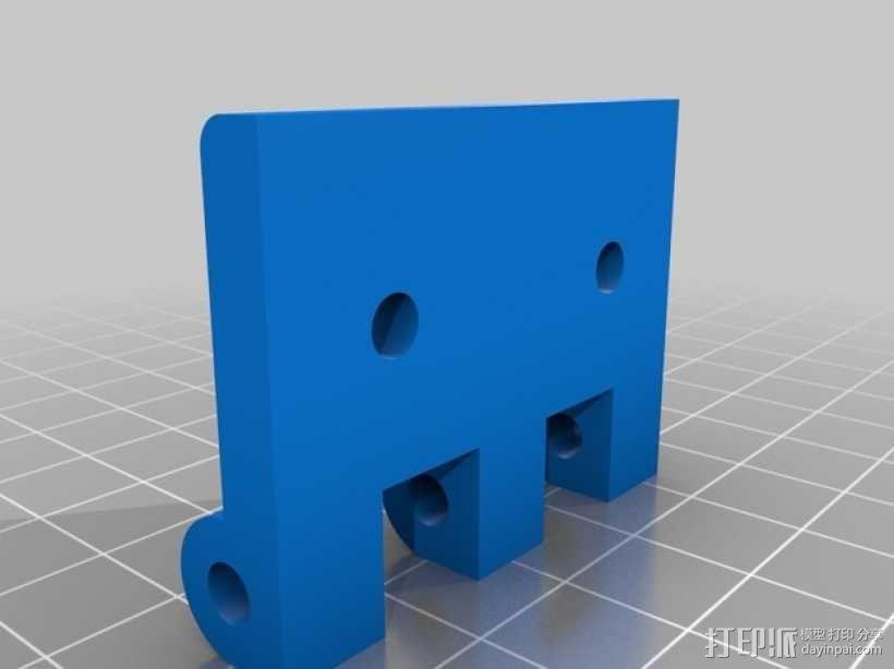 门铰链 3D模型  图5