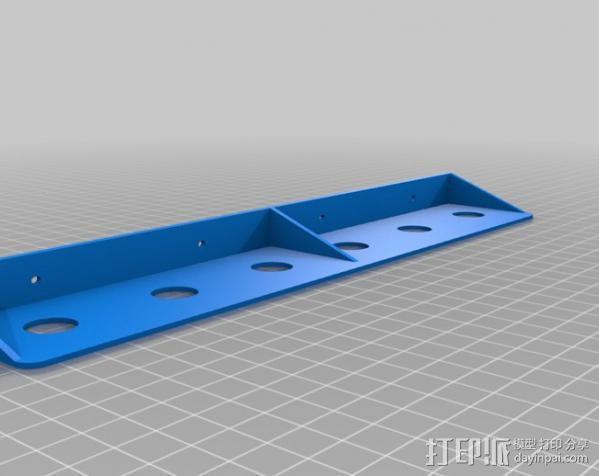 定制化工具架 3D模型  图3