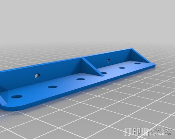 定制化工具架 3D模型  图2