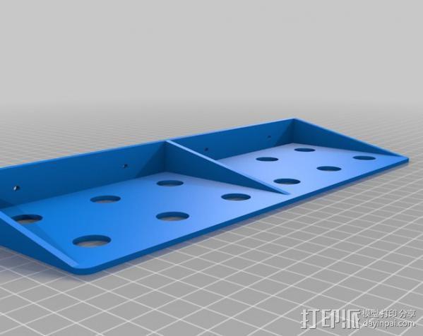 定制化工具架 3D模型  图4