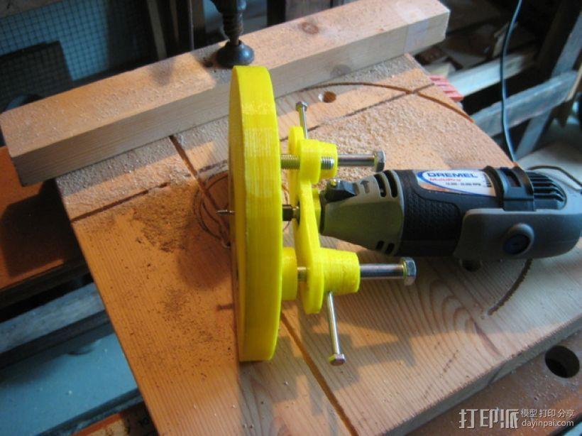 迷你压入式木工雕刻机  3D模型  图1