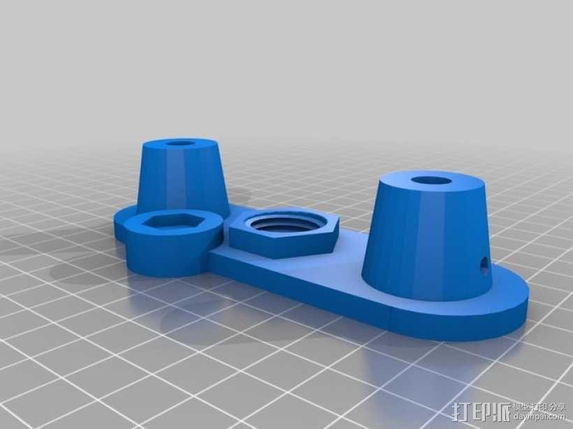 迷你压入式木工雕刻机  3D模型  图2
