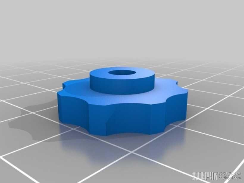 迷你压入式木工雕刻机  3D模型  图5