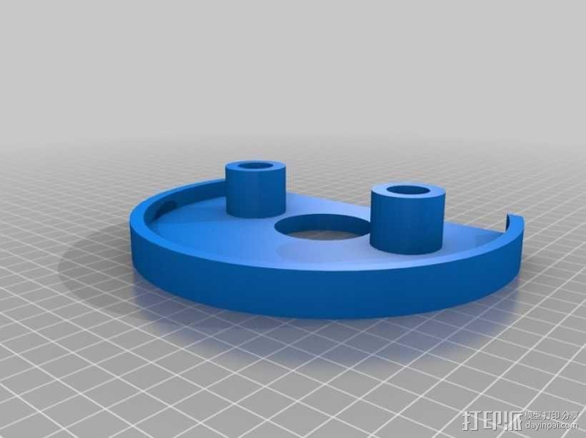 迷你压入式木工雕刻机  3D模型  图4