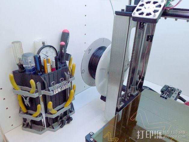 精密工具架 3D模型  图4