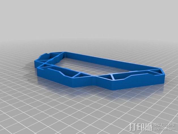 精密工具架 3D模型  图13