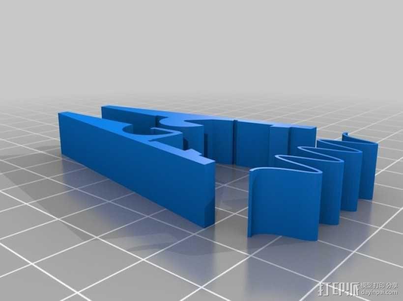 衣夹/夹子 3D模型  图2