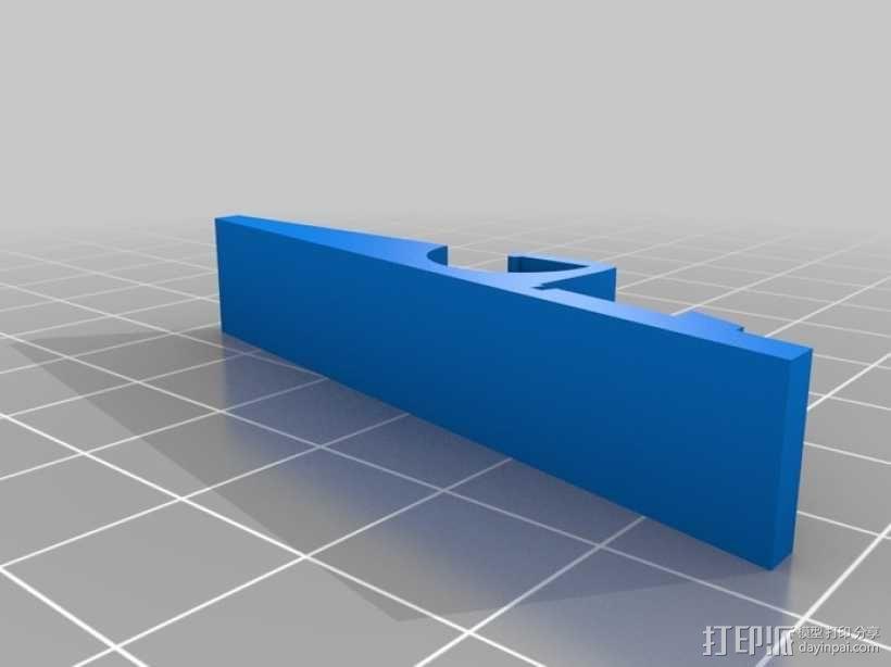 衣夹/夹子 3D模型  图6