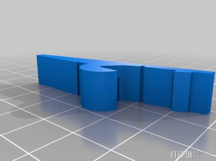 衣夹/夹子 3D模型  图5