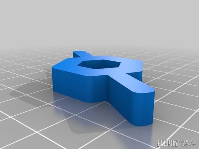 螺母夹  3D模型  图2