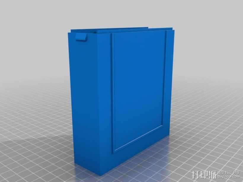 硬盘盒 3D模型  图2