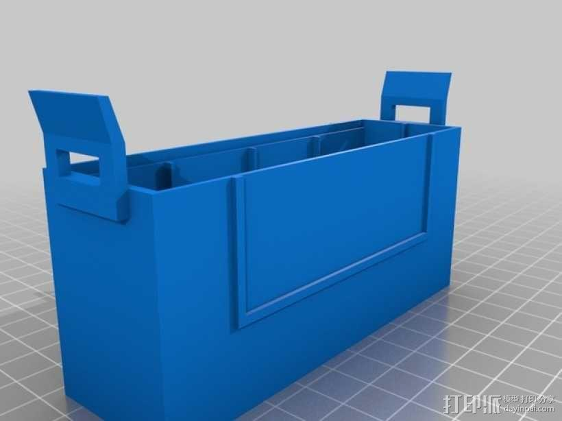 硬盘盒 3D模型  图1