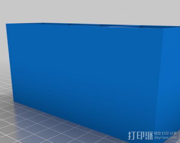 迷你存储箱/存储架 3D模型  图4