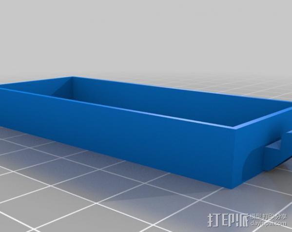 迷你存储箱/存储架 3D模型  图3