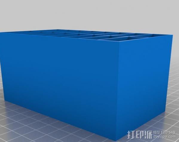 迷你存储箱/存储架 3D模型  图5