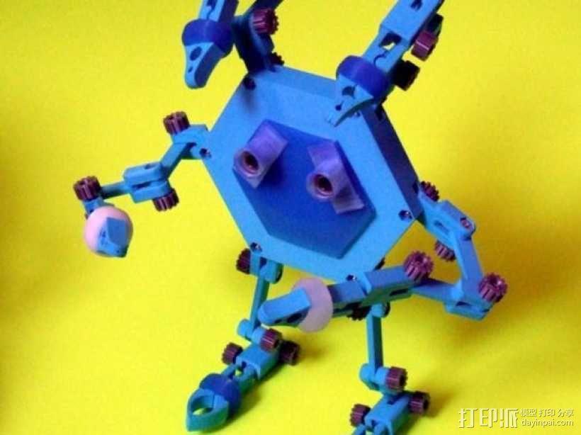 迷你机器人帮手 3D模型  图1