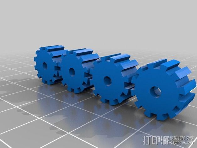 迷你机器人帮手 3D模型  图2