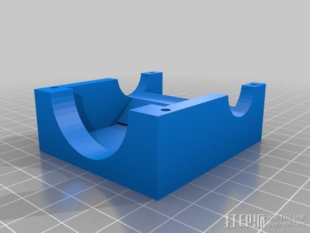 线材挤出机漏斗 3D模型  图1