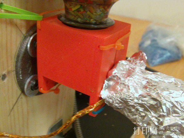 线材挤出机漏斗 3D模型  图3