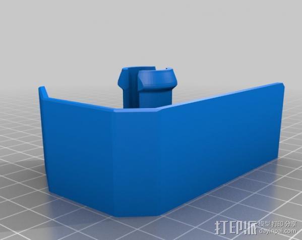 线轴架保护装置 3D模型  图3