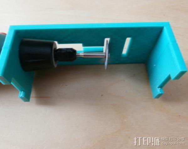 研磨机置放保护架 3D模型  图6