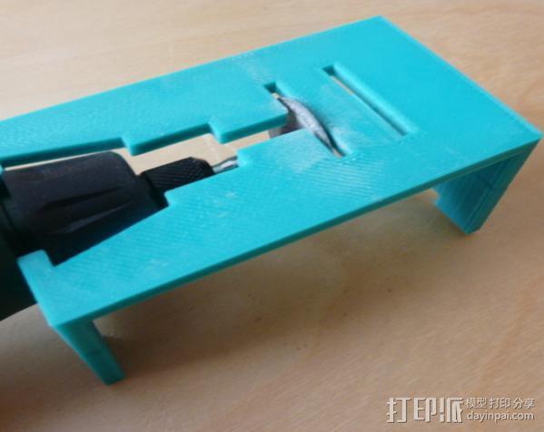 研磨机置放保护架 3D模型  图5