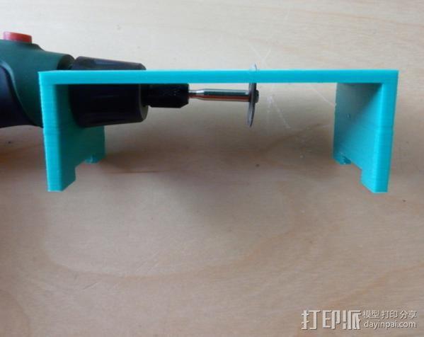 研磨机置放保护架 3D模型  图7