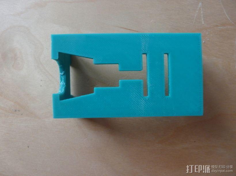研磨机置放保护架 3D模型  图9