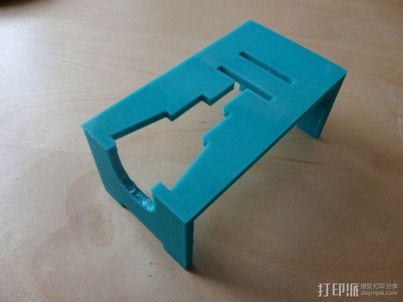 研磨机置放保护架 3D模型  图10