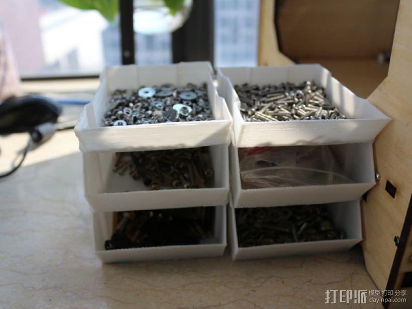 可堆叠的工具箱 3D模型  图2