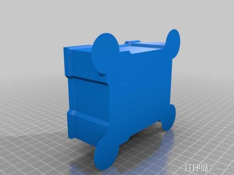 可堆叠的工具箱 3D模型  图3