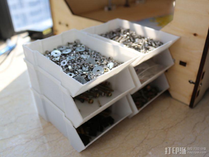 可堆叠的工具箱 3D模型  图1