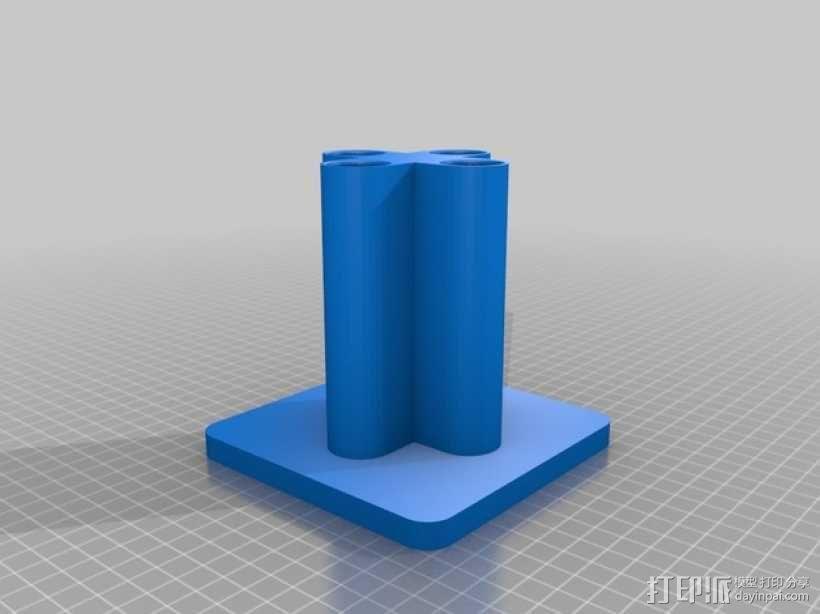 移液器支架  3D模型  图2
