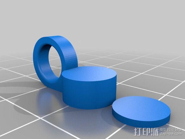 开瓶器 磁环  3D模型  图3