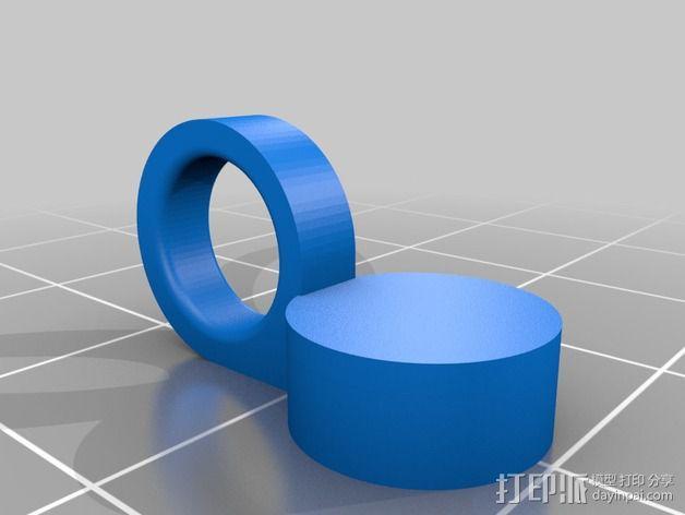 开瓶器 磁环  3D模型  图2