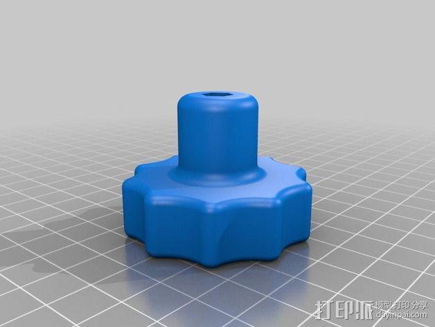 螺丝钻头底座 3D模型  图3