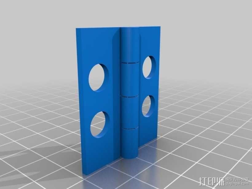 定制化铰链 3D模型  图4