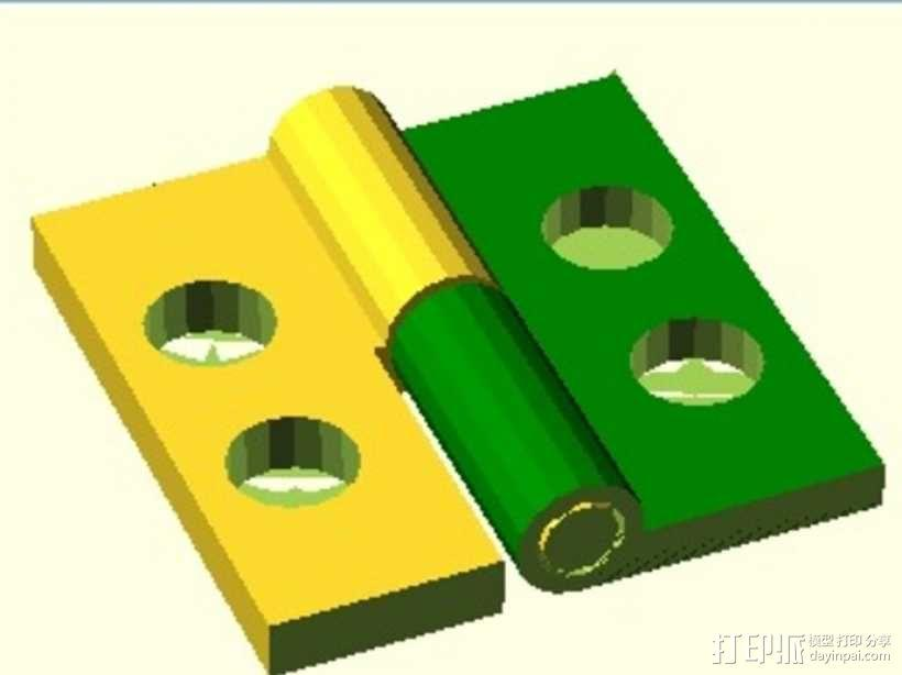 定制化铰链 3D模型  图6