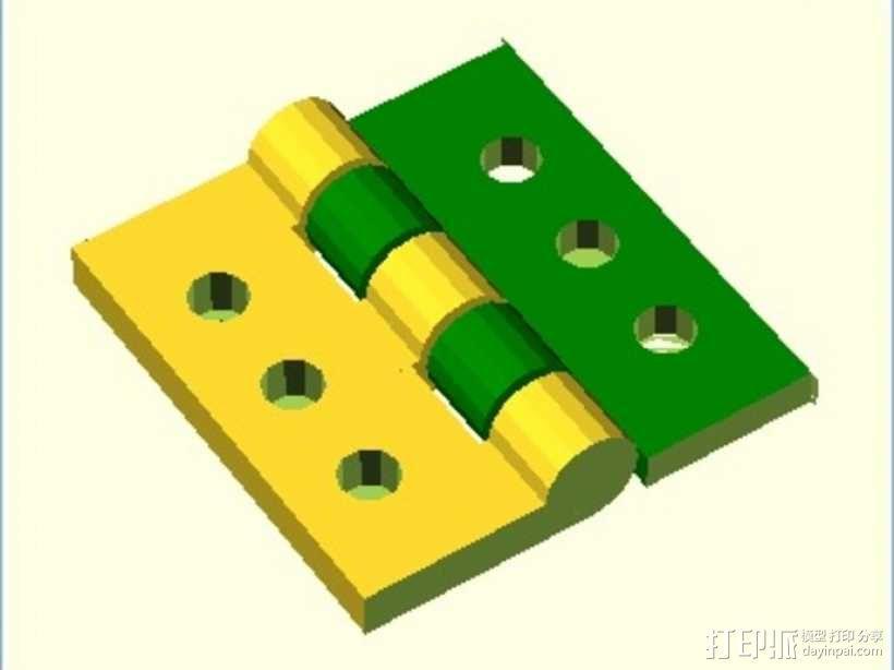 定制化铰链 3D模型  图5