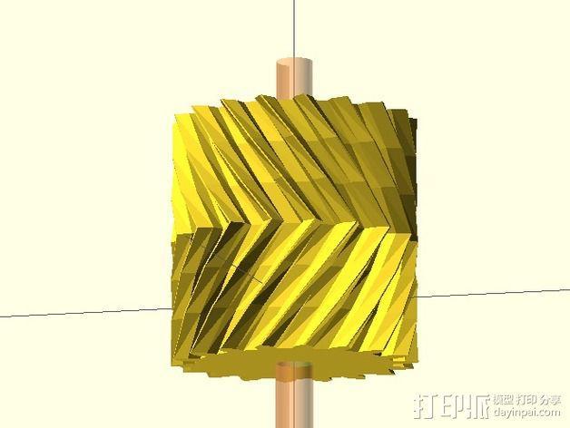 定制刨齿机V2.0 3D模型  图4