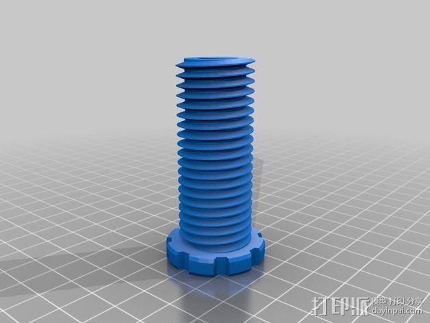 螺丝螺母套件 3D模型  图2