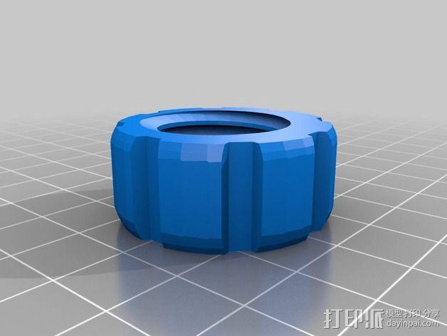 螺丝螺母套件 3D模型  图3