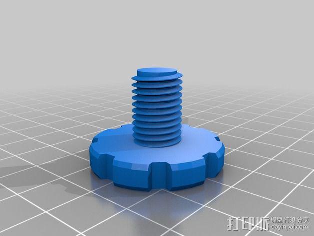 螺丝螺母套件 3D模型  图4