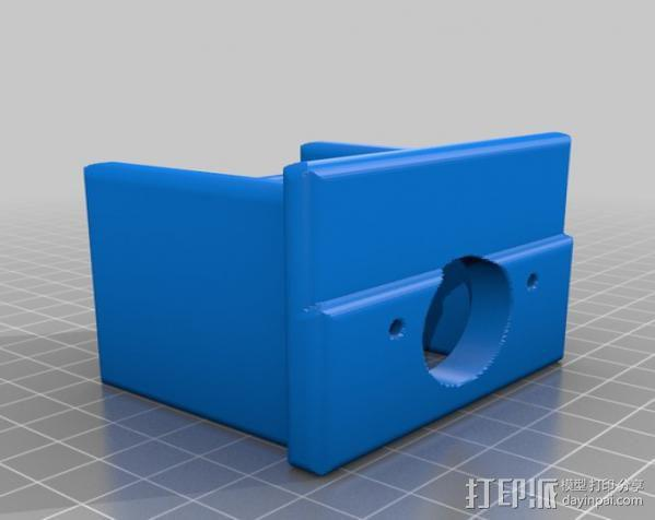 PROXXON MF70迷你铣床发动机支架  3D模型  图4