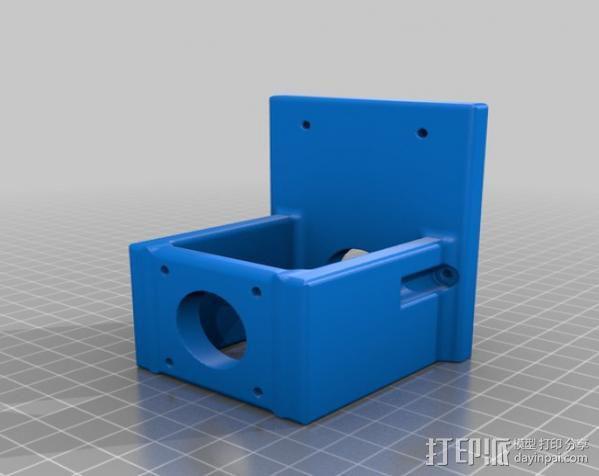 PROXXON MF70迷你铣床发动机支架  3D模型  图5
