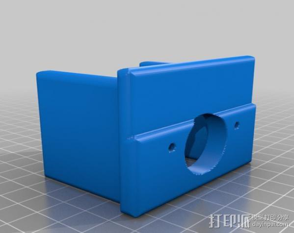 PROXXON MF70迷你铣床发动机支架  3D模型  图7