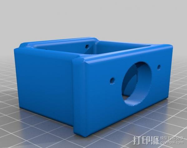 PROXXON MF70迷你铣床发动机支架  3D模型  图6